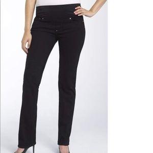 Paige straight leg maternity jeans, size 26